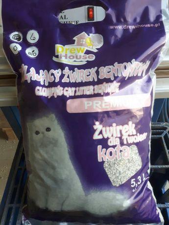 Żwirek Bentonit dla kotów 5,30 kg /5,30 L