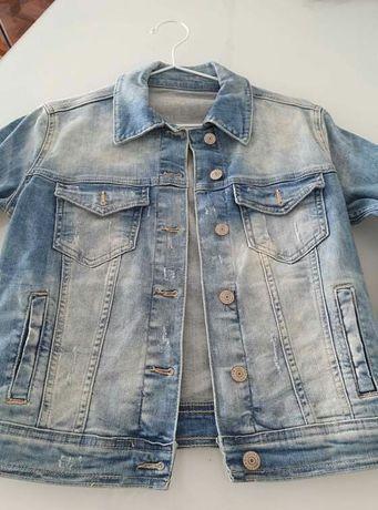 Blusão de ganga Zara