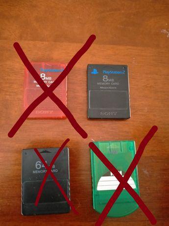 Karta pamięci/memory card PlayStation 2