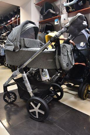 OSTATNIA SZTUKA! NOWY! Baby Design Husky 2w1 2020ROK! Szarość!
