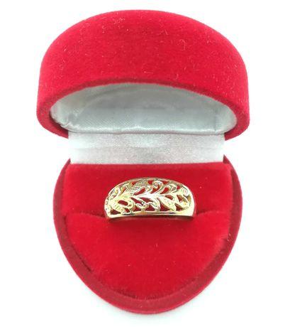 Piękny złoty pierścionek p585 3,11g R22