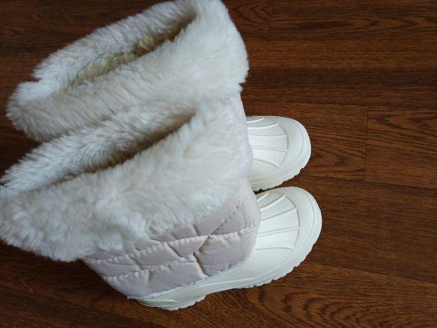 белые сапожки