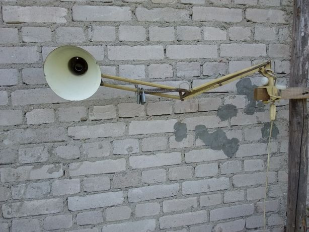 Lampa warsztatowa okres PRL