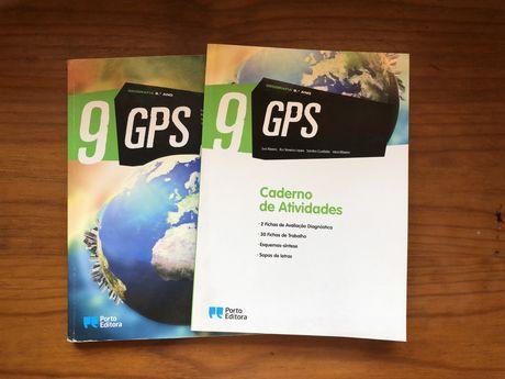 """Manuais Geografia 9º ano """"GPS"""""""