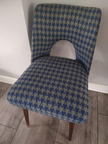 Oryginalne Krzesło muszelka PRL