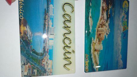 подарок сувенир Мехико Столица Мексики México cancun Канкун магнит 2шт