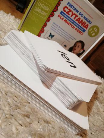 Zestaw do nauki czytania metoda Domana, karty