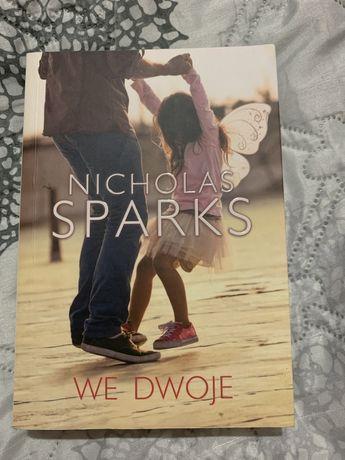 """Ksiazka pt. """"We dwoje"""" Nicholas Sparks"""