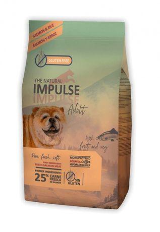 Ração - THE NATURAL IMPULSE P/Cão Adulto - SALMÃO - Saco 3kg / 12kg