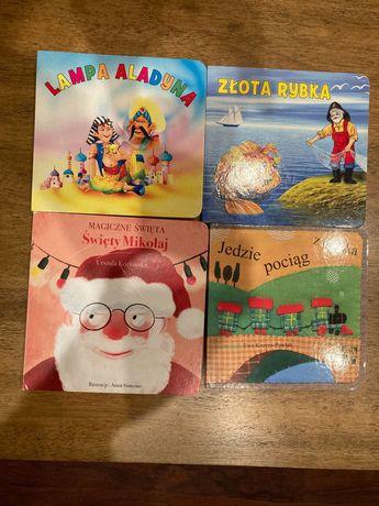 4 książeczki dla maluszka