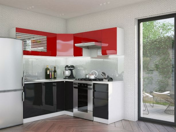 !Lakier! Narożny zestaw mebli/szafek kuchennych 3,6 m kuchnia Małgosia