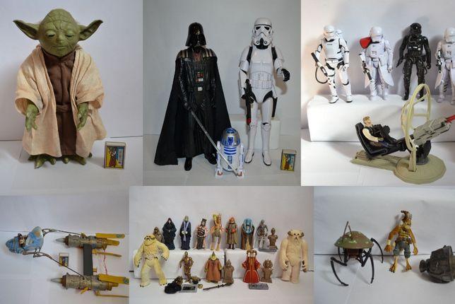 Звездные войны, фигурки, Дарт Вейдер, Йода, штурмовик, клон, лего