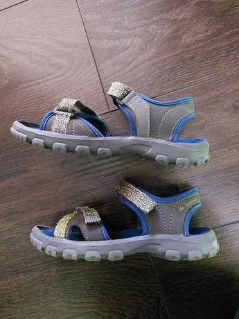 Sandały sportowe lekkie chłopięce QUECHUA r. 34