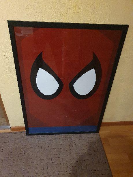 Plakat Spiderman z ramą 105 cm na 75 cm Marvel