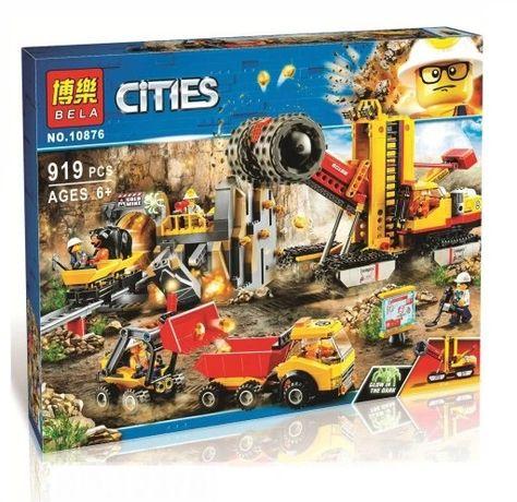 Klocki Bela Cities Kopalnia Złota 919 elementów