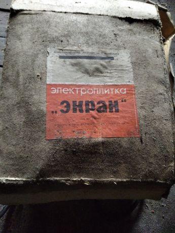 "Электроплитка ""ЭКРАН"""