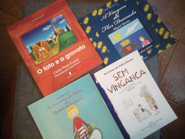 Pack de Livros Infantis (pack 4 livros novos!)