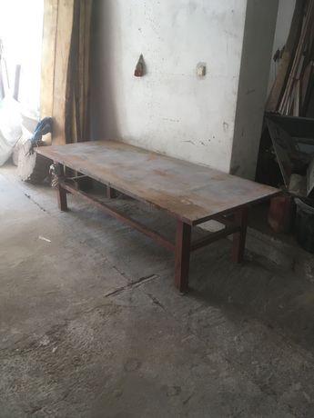 Sprzedam stół wibracyjny do betonu, Pustakow itp duzy 251cmx100cm
