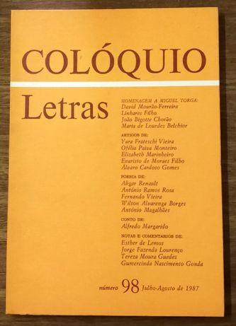 colóquio letras, 98, julho.agosto 1987