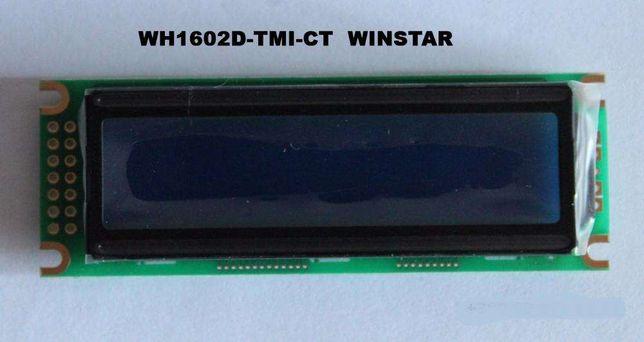Символьный ЖК-индикатор WH1602D-TMI-CT