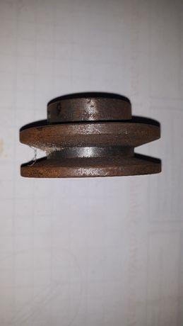 Polia em ferro fundido 6cm para correio tipo A