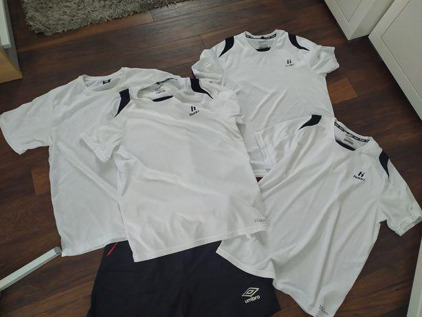 Koszulki Huari M,L, spodenki Umbro M
