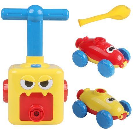 Pumping car. Машинка с шариками. Новинка -воздушная гонка.