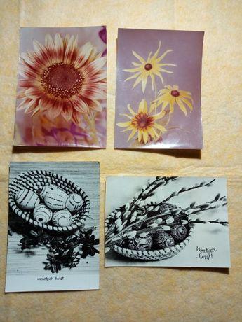 Kartki pocztowe, pocztówki PRL, widokówki x4