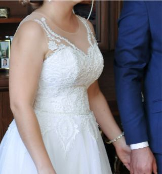 Sprzedam śliczna suknie ślubną!!!
