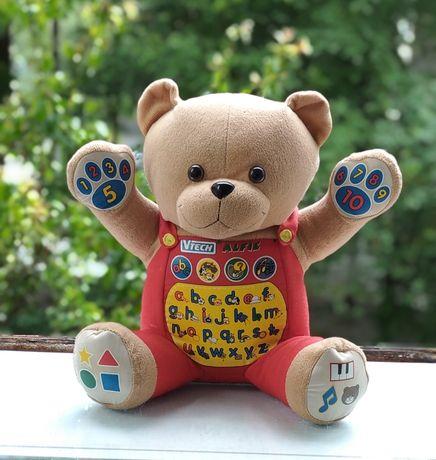 Розвиваючий ведмедик інтерактивний. Говорящий мишка музыкальный