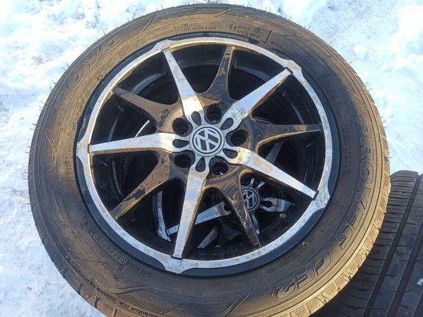 Диски +шины Volkswagen Jetta 205/55 R16 Лето 4шт