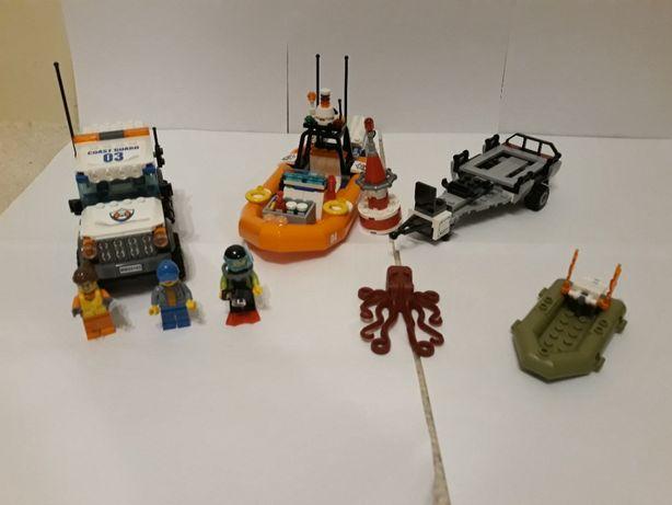 LEGO City 60165 Terenówka z przyczepą i pontonem
