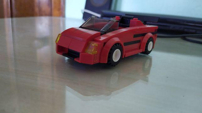 Машинка кабриолет Лего Сити из набора 60007