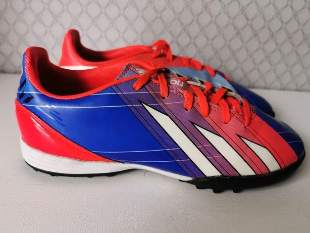 Adidas F10 TRX TF turfy 36/22 cm IDEALNE buty piłkarskie dla dziecka