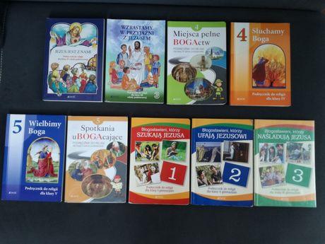 Książki religii klasy 1 2 3 4 5 szkoły podstawowej Jezus Boga Jedność