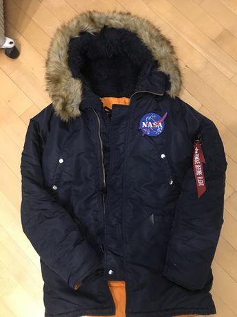 "Зимняя куртка Alpha Indastries ""NASA"""