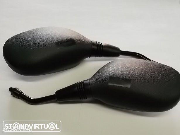 Par Espelhos Yamaha NEOS e BWS 50 Rosca 8 mm rosca esquerda-direita