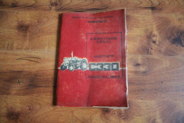 Ursus C 330 Instrukcja obsługi ,1987 oryginalna-PRL