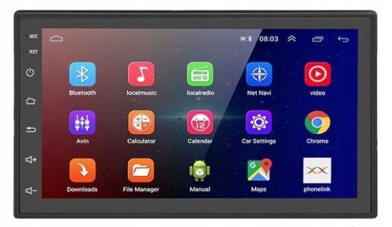 Radio stacja multimedialna 2 din, 1GB RAM Android 9.1 GO, RDS!! NAVI