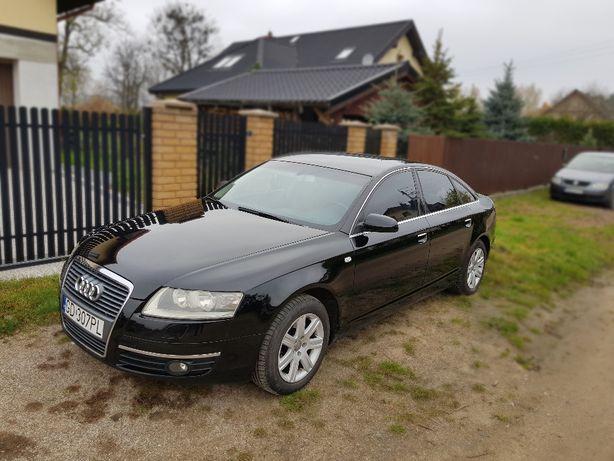 Audi A6 C6 2,4 2005 r. LPG (BRC) brązowe skóry w bardzo dobrym stanie