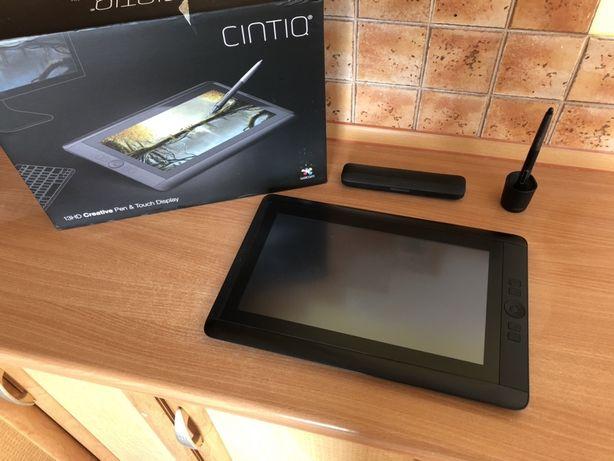 Wacom Cintiq 13 HD Touch - pelny zestaw tablet graficzny dotykowy