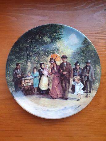 Тарелка винтажная коллекционная Германия