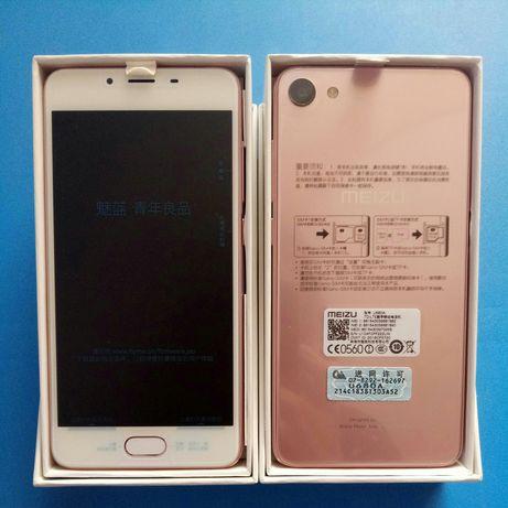 Телефон Meizu U10 pink 3/32 новый
