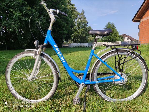 Rower miejski koła 28