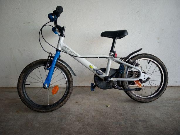 Bicicleta BTWIN 16 polegadas criança 4-6 anos