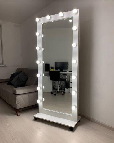Зеркало с подсветкой Напольное зеркало с подсветкой Гримерное зеркало