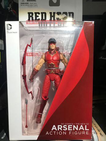 Figurka Arsenal - Red Hood and the Outlaws - DC Collectibles - nowa