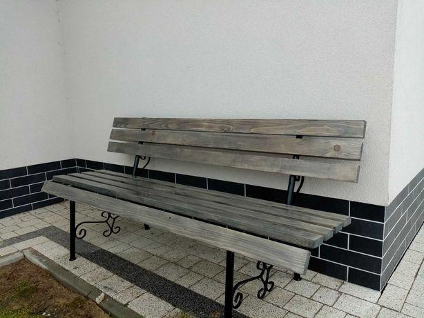 Ławka ogrodowa, stół, meble ogrodowe