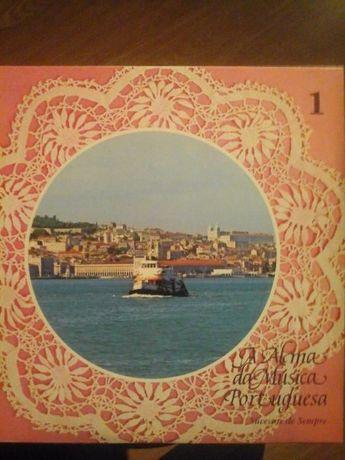 Coleção 8 Discos de Vinil A Alma Portuguesa