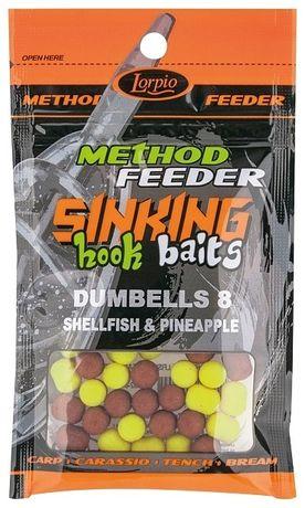 Lorpio Hook baits sinking dumbells,pellet, PO Terminie . 8 op